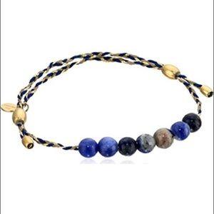 Alex and Ani Sodalite Precious Thread Bracelet
